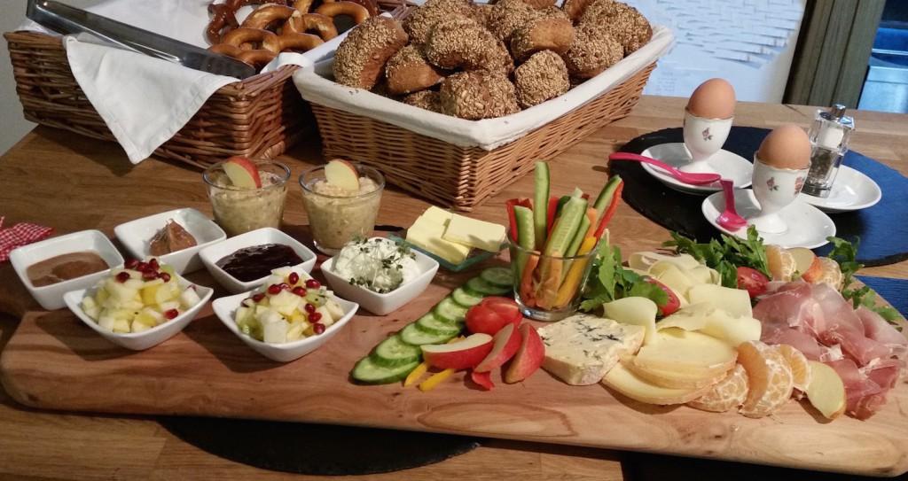Frühstück für zwei im Café und Bioladen Biberbach