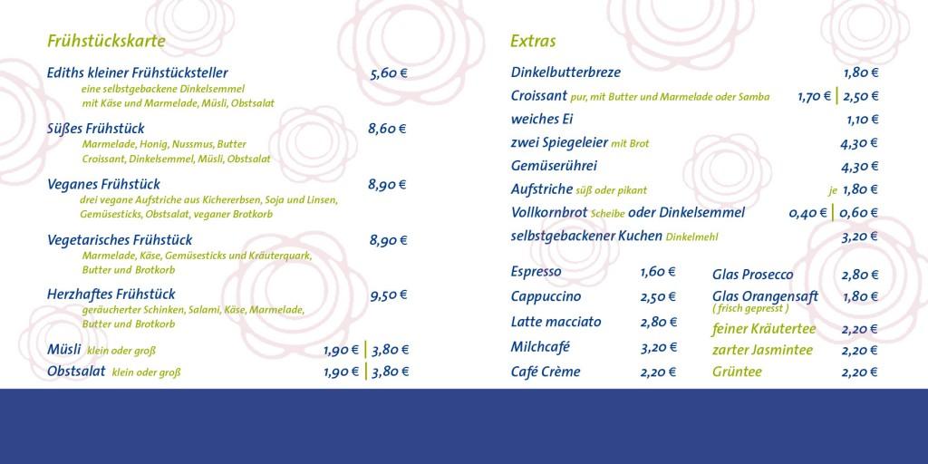 Bioladen und Café Biberbach Edith Frühstück